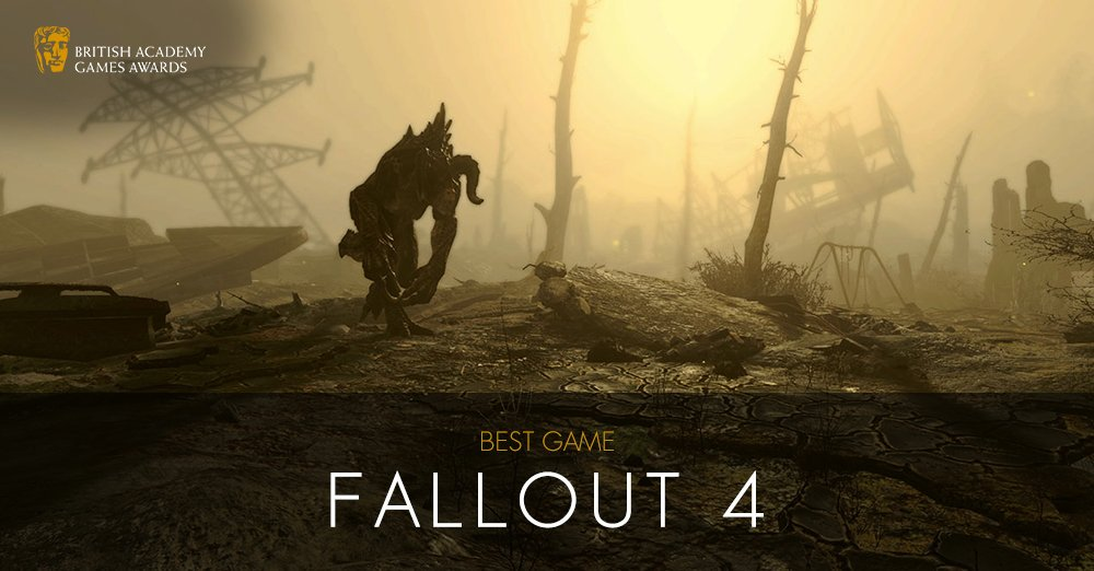 'Fallout 4' Wins Best Game at BAFTA Games Awards