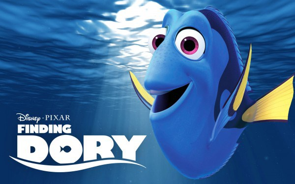 Finding Dory logo title