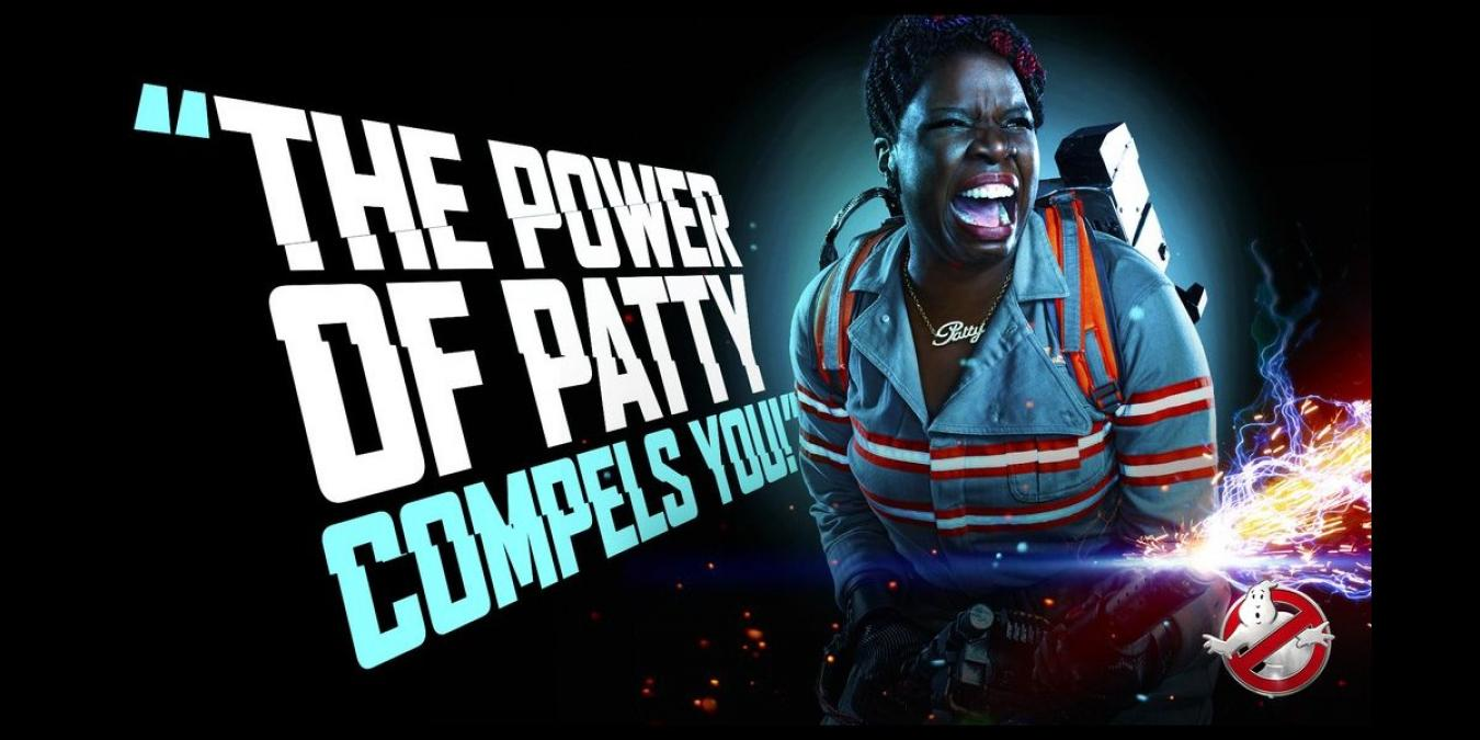 And Leslie Jones as, well, Patty