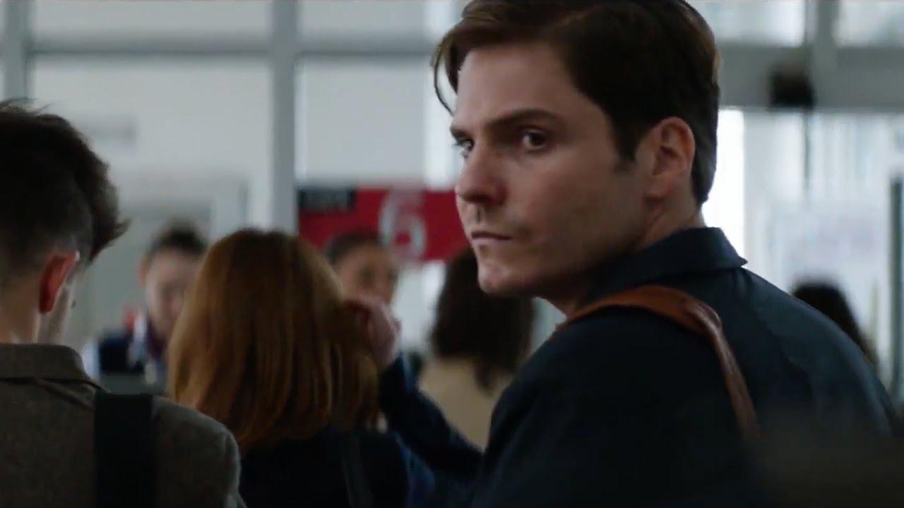 Daniel Bruhl as Baron Zemo in airport civil war