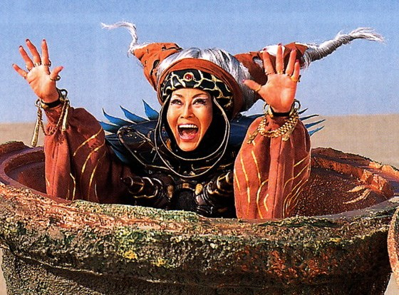 Rita Repulsa, Power Rangers, Mighty Morphin Power Rangers