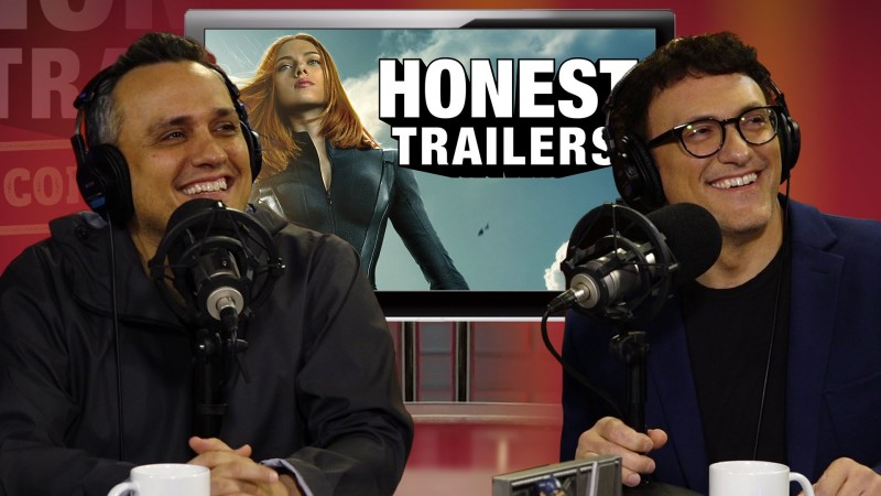 Russos React to 'Captain America' Honest Trailer