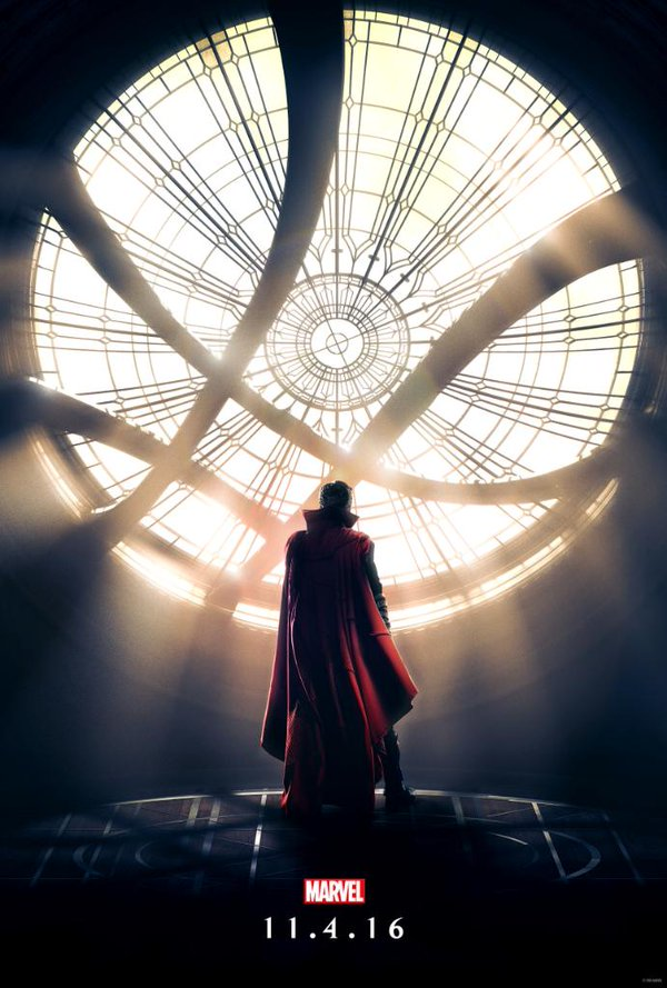 doctor strange, marvel, 3d, benedict cumberbatch, doctor strange poster