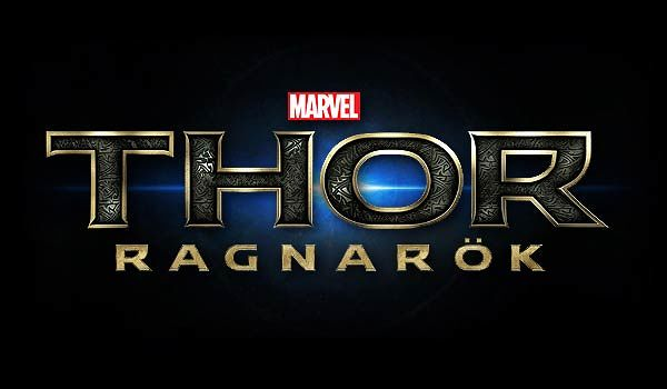 Thor Ragnarok blue logo