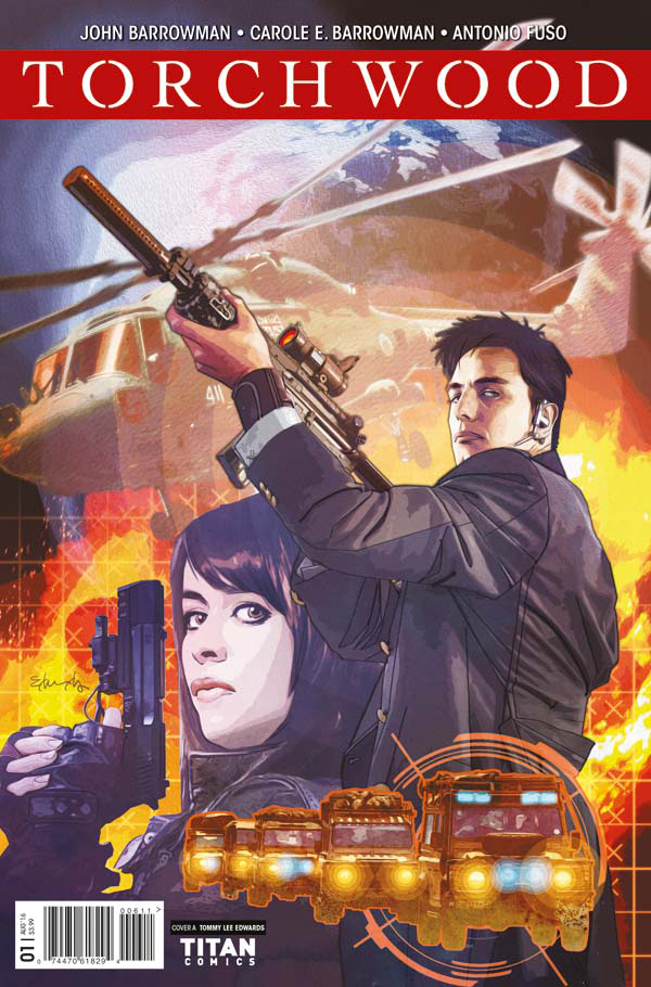 Torchwood Comic cover