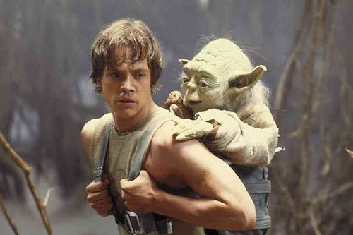 star wars, empire strikes back, luke, yoda, skywalker, jedi, mark hamill