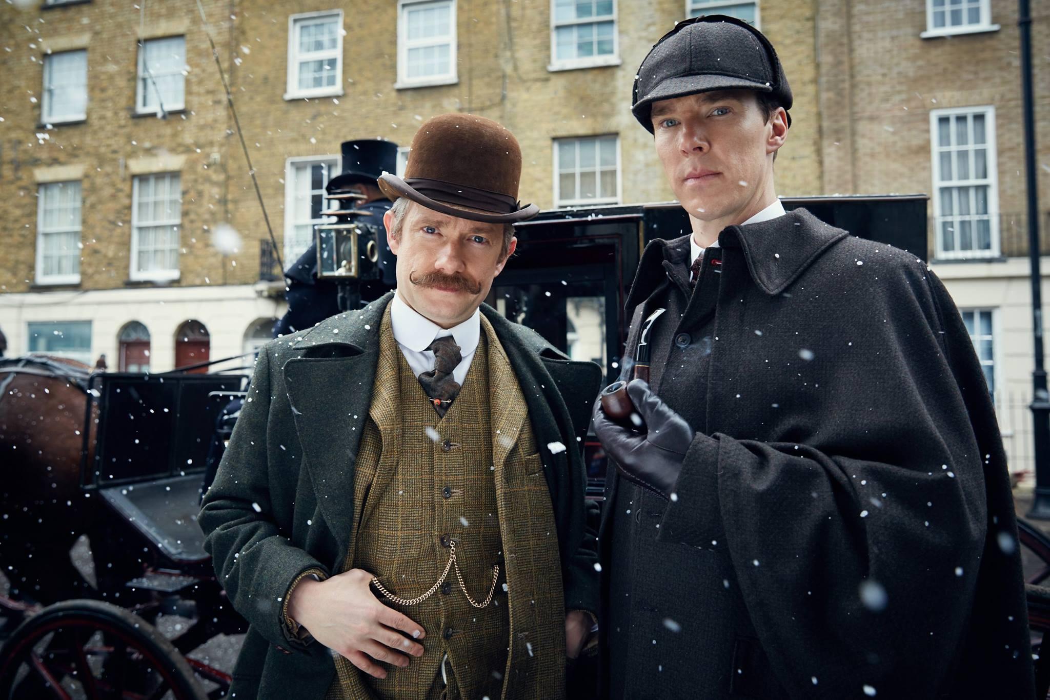 See Benedict Cumberbatch Filming New 'Sherlock' Episodes