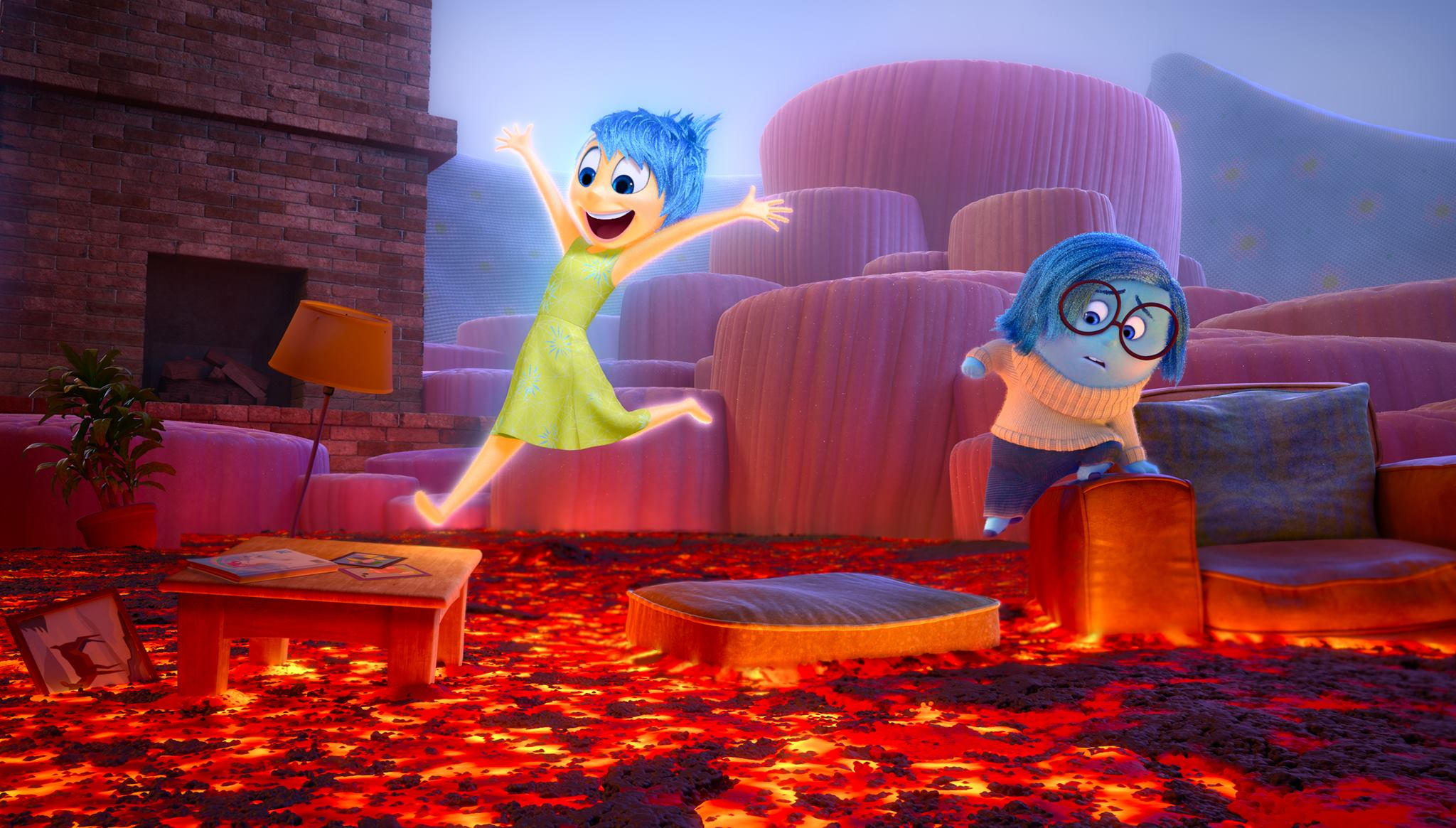 Disney and Pixar's Inside Out, Joy and Sadness, Pixar's Inside Out