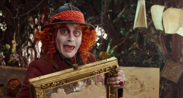 Alice Through the Looking Glass, Johnny Depp as Mad Hatter