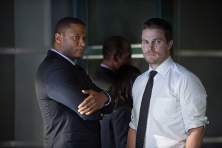 Oliver Queen and Diggle