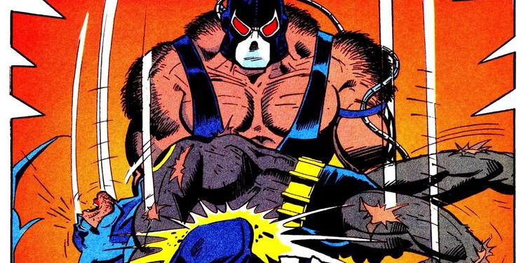 Bane breaks Batman's back in Nightfall