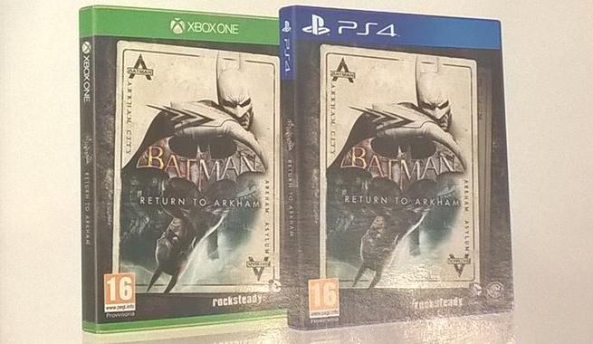 Batman Return to Arkham box art