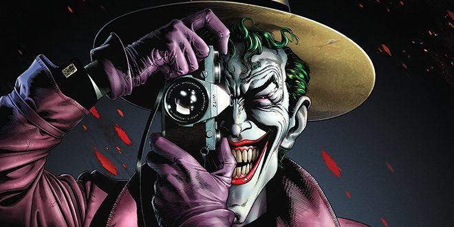 Batman the Killing Joke, joker aiming a gun