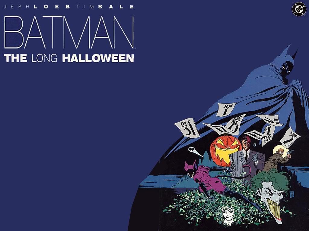 Batman the Long Halloween cover art