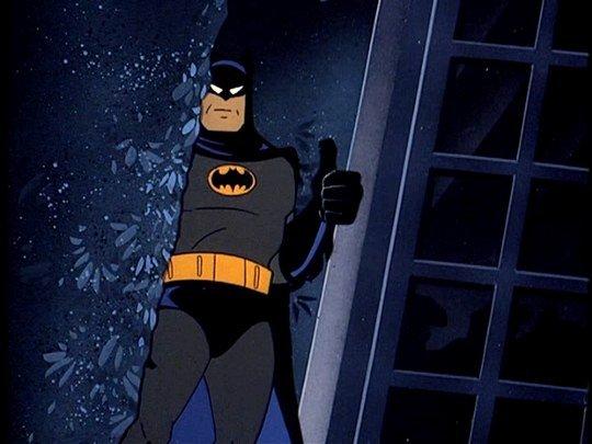 Batman Thumbs Up