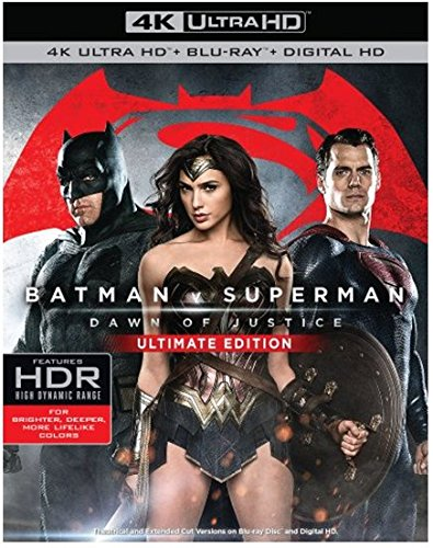 Batman v Superman Ultimate Edition Box Art