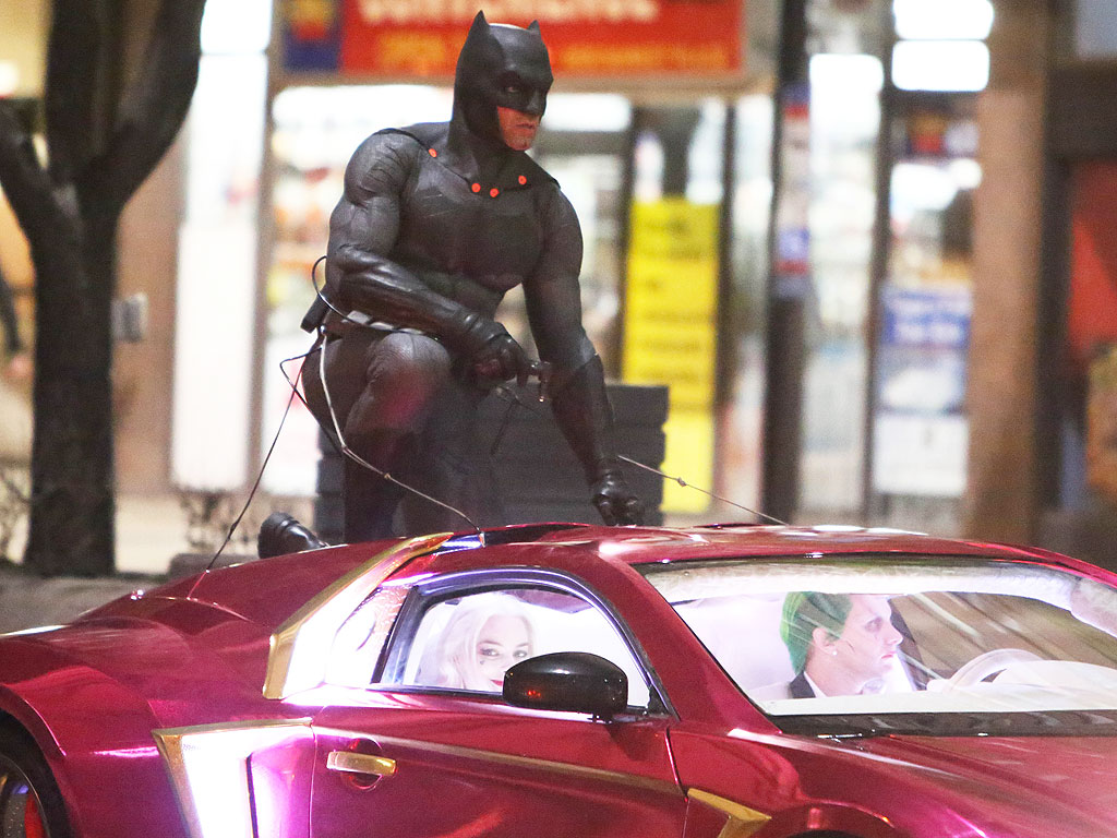 Ben Affleck's Batman in Suicide Squad