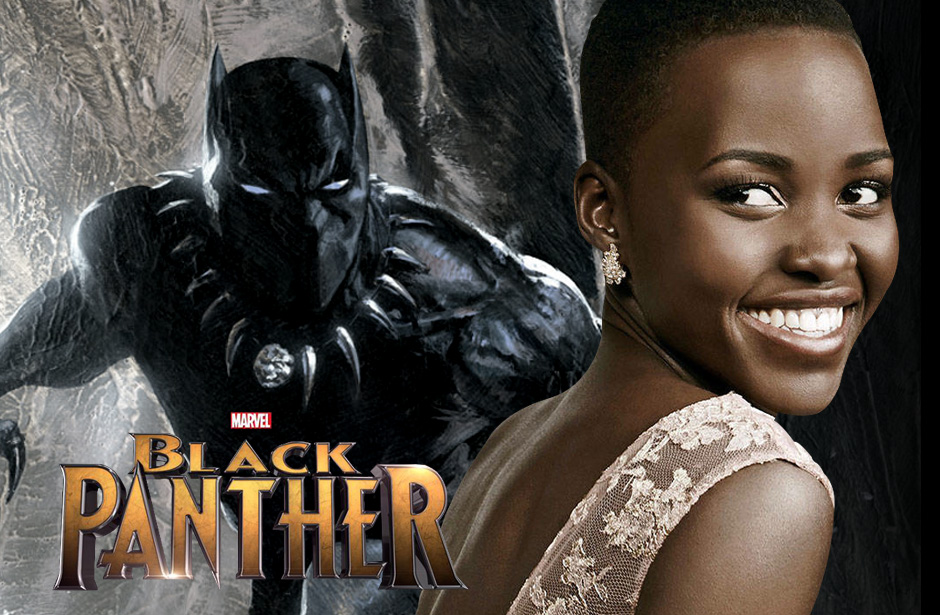 Lupita Nyong'o possibly in Black Panther