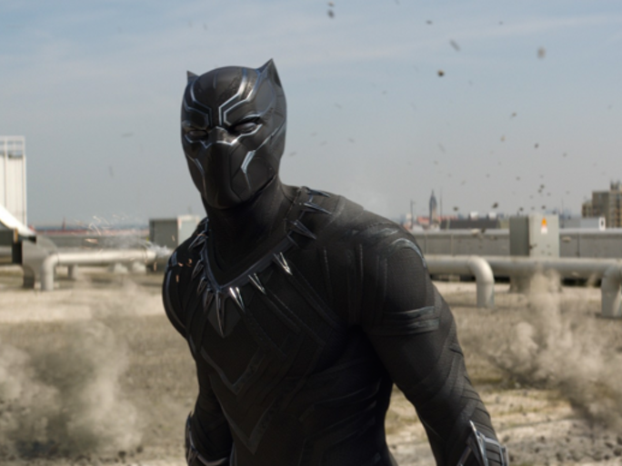Black Panther in 'Captain America: Civil War'
