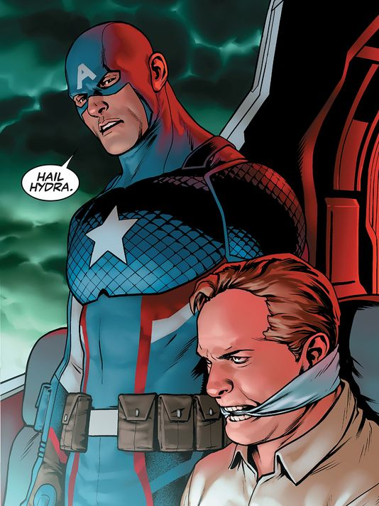 Captain America in Steve Rogers #1