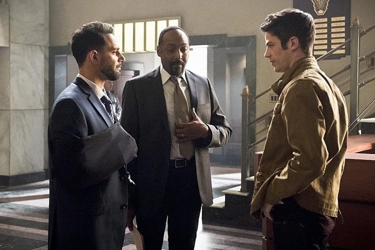 Captain Singh, Joe West, Barry Allen