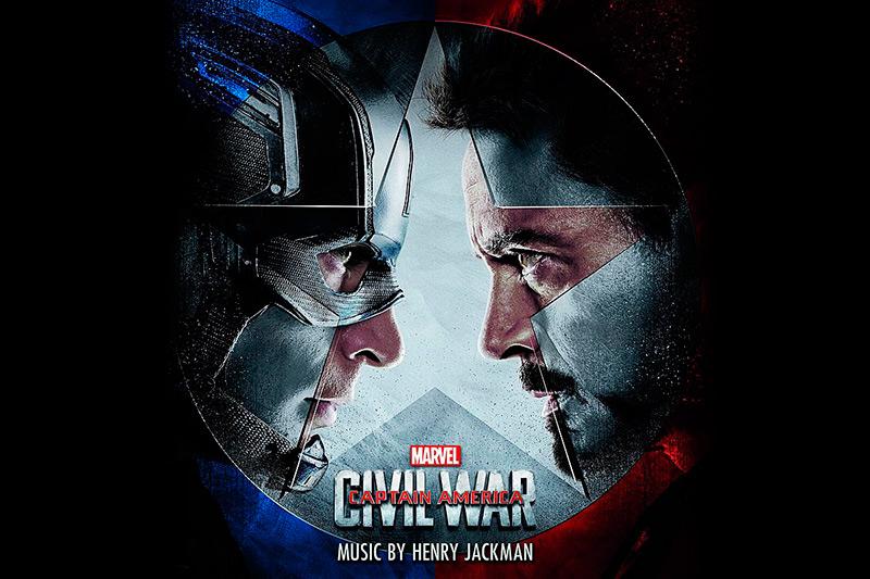 Score for captain america civil war soundtrack cover