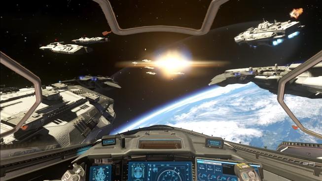 CoD Infinite Warfare space combat