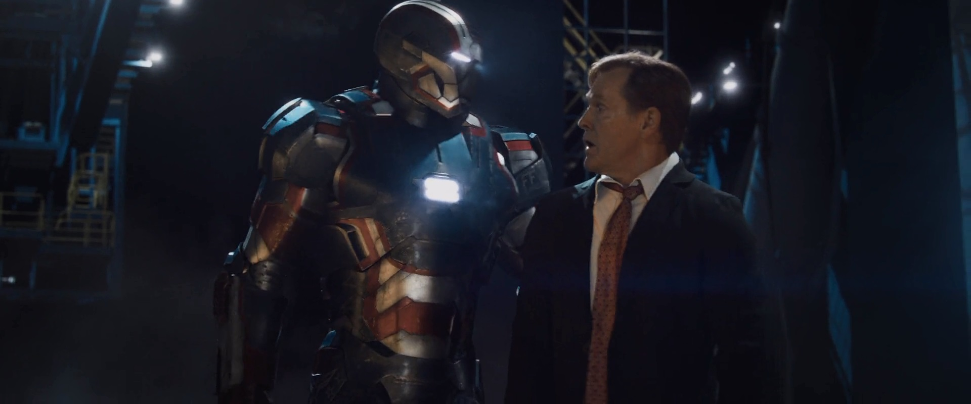 President Ellis in Iron Man 3