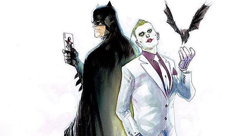 variant cover DC Rebirth Batman and Joker