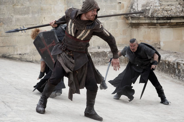 assassin's creed aguilar fighting templars