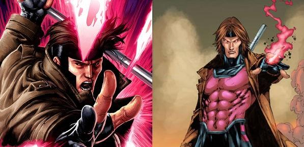Gambit art from Marvel Comics