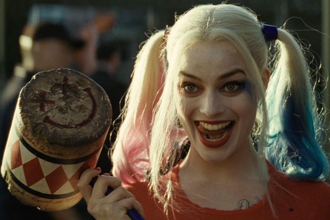 Harley Quinn Margot Robbie mallet
