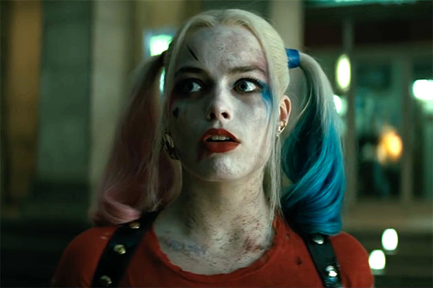 Harley Quinn Margot Robbie uh oh suicide squad trailer