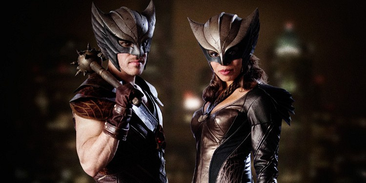 Hawkman and Hawkgirl in Legends of Tomorrow