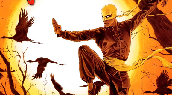 Bathrobe-Clad Danny Rand in 'Iron Fist' Set Photos