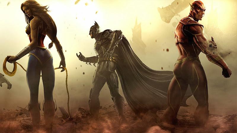 Injustice Gods Among Us Flash Wonder Woman Batman