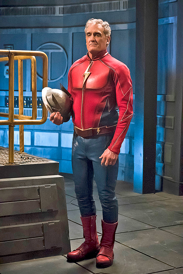 John Wesley Shipp as Jay Garrick/The Flash