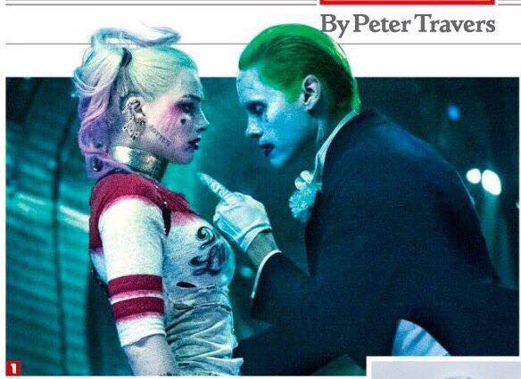 Joker angry at Harley Leaked Photo Suicide Squad