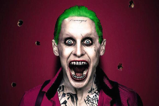 Jared Leto's Joker in purple mouth wide Suicide Squad most tweeted summer film