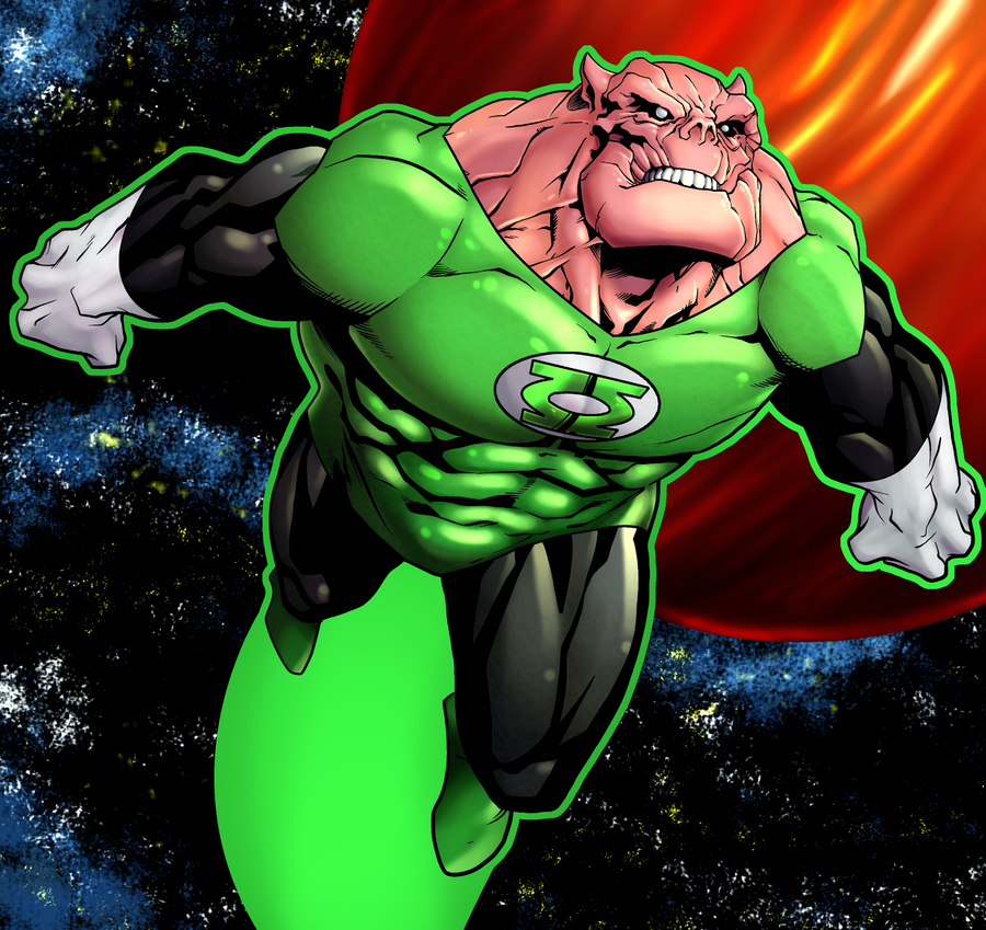 Kilowog in the comics