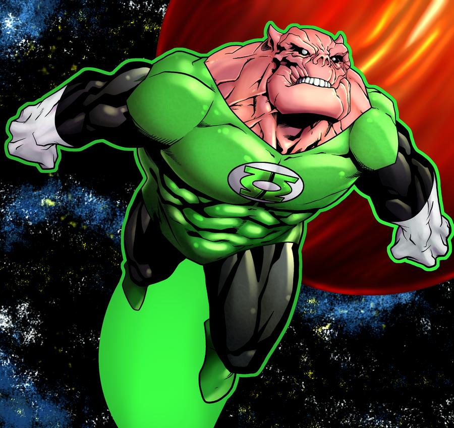 Kilowog in the comics