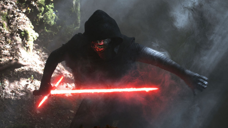 Kylo Ren returns in Sat Wars: Episode VIII
