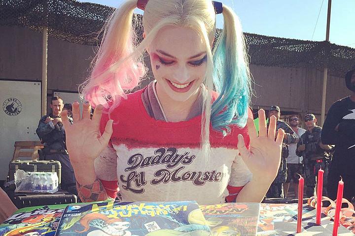 Margot Robbie gets Harley Quinn Cake