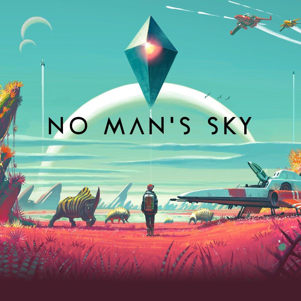 No Man's Sky box art