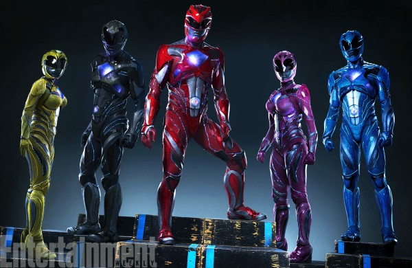 Power Rangers New Costumes for Reboot
