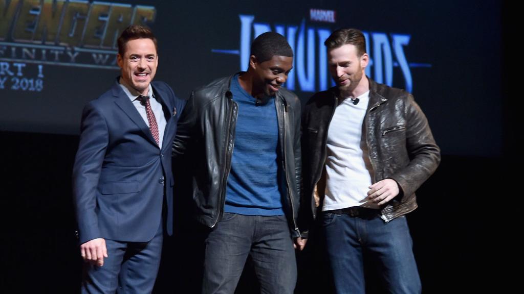 RDJ, Boseman, Evans Marvel Cinematic Universe Phase 3 Event
