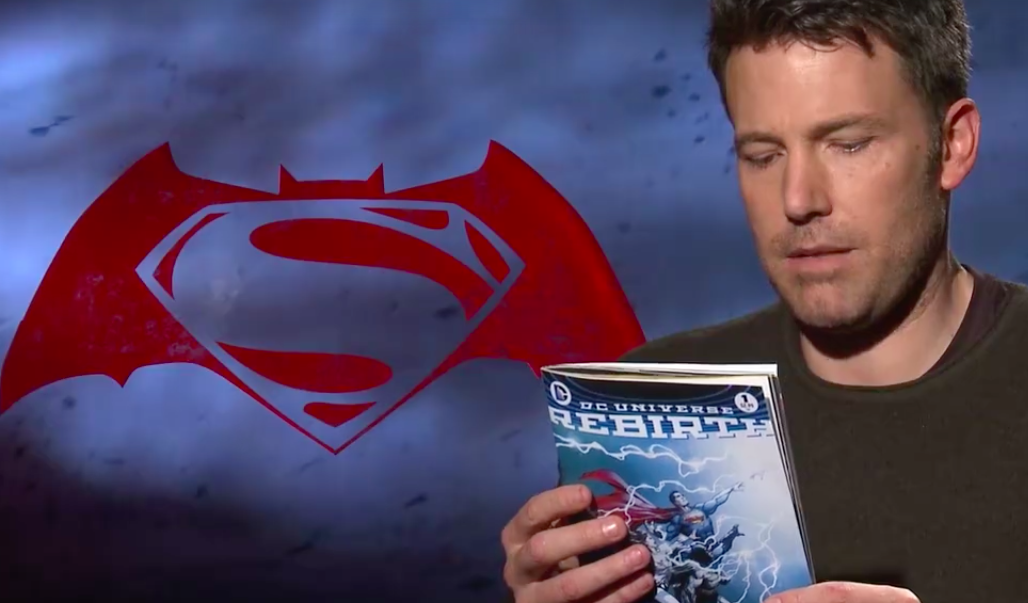 Ben Affleck in DC Rebirth video