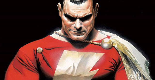 Shazam! Set Photos Offer Our Best Look at Captain Marvel's Suit