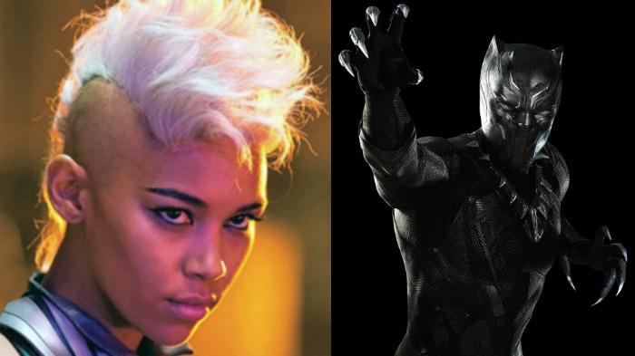 Storm, Black Panther, Marvel, X-Men