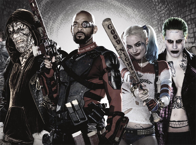Suicide Squad calendar image, WB considering spinoffs